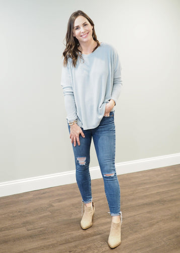 Eden Everyday Ribbed Knit Top | Sisterhood Style