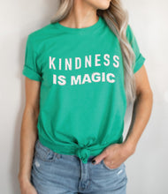 Load image into Gallery viewer, Kindness is Magic Graphic Tee | Sisterhood Style