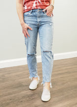 Load image into Gallery viewer, Monica Distressed Mom Jeans | Sisterhood Style