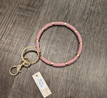 Load image into Gallery viewer, Beaded Key Ring Bracelet