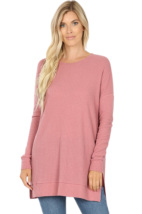 Tabitha Thermal Sweater in PLUS