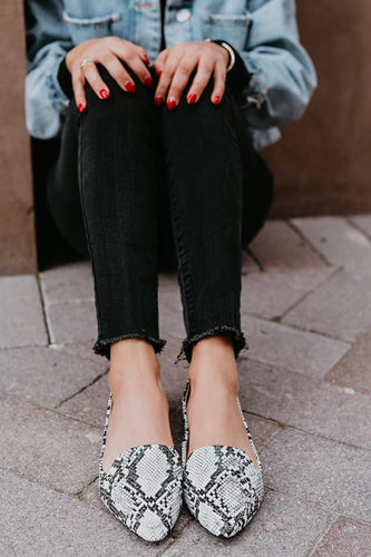 Stacy Snakeskin Rollasole Loafers | Sisterhood Style