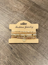 Load image into Gallery viewer, Delicate Beaded Bracelet Stack Set - Sisterhood Style