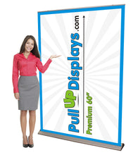 Load image into Gallery viewer, Giant 5ft wide premium retractable banner