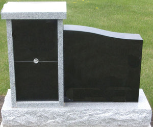 Black monuments by Grace Monuments