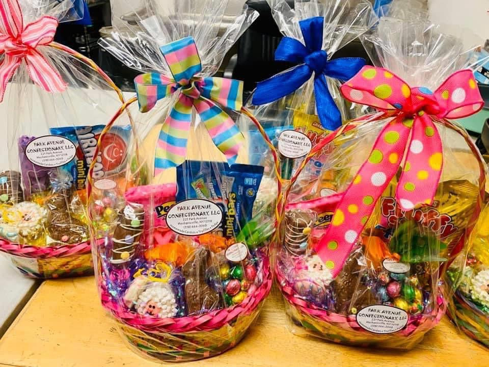 Kids Chocolate and Candy Basket for ORENDA Fundraiser