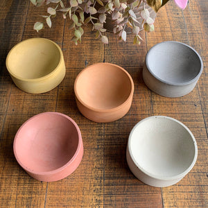 Concrete Trinket Bowl - 6 colours