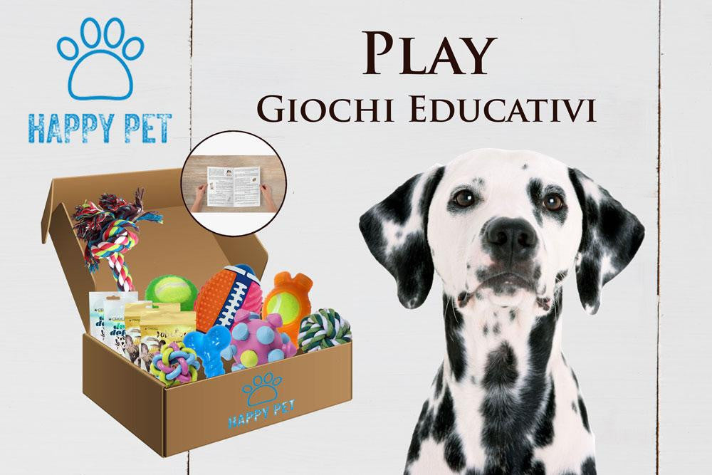 Happy Pet Box Play Giochi educativi per il tuo cane