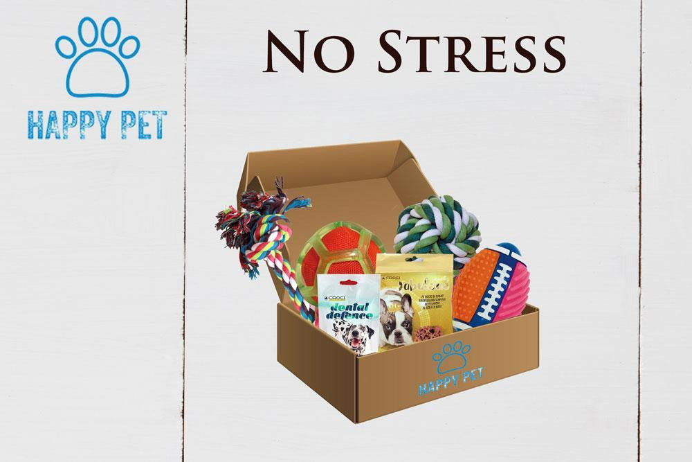 Happy Pet Box No Stress Giochi Cane Resistenti Anti Stress