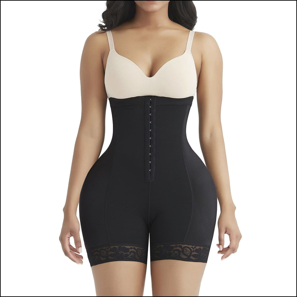 Butt lifter with pad - s / black - shapewear