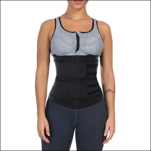 Open image in slideshow, Double the sweat - xs / black - shapewear