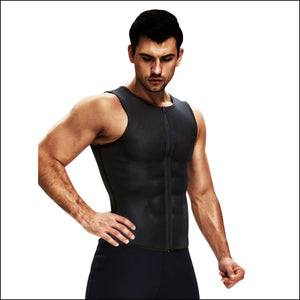Men's sauna vest - shapewear
