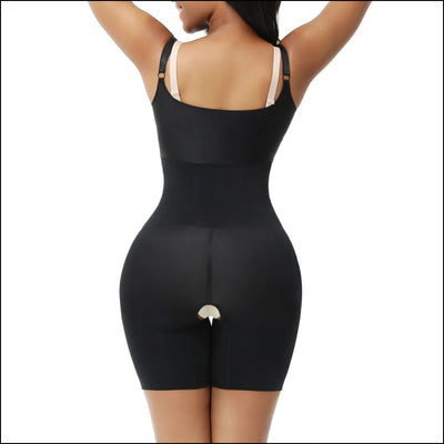 Seamless compression bodyshaper - shapewear