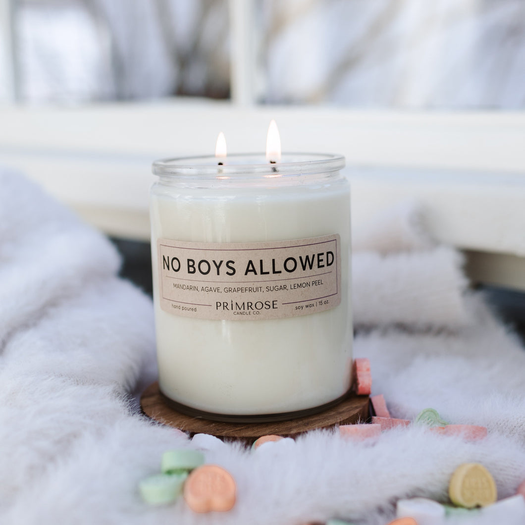 NO BOYS ALLOWED - DOUBLE WICK