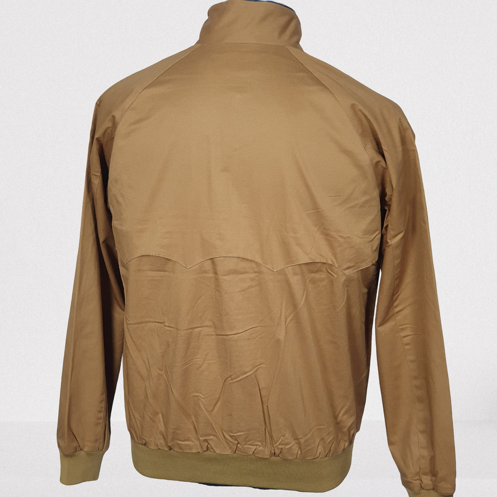 Harrington Tobacco Cotton Jacket