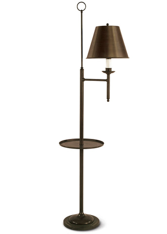 Provincial Bridge Lamp With Tray