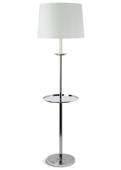 Candlestick Floor Lamp with Tray - Kelly Forslund Inc