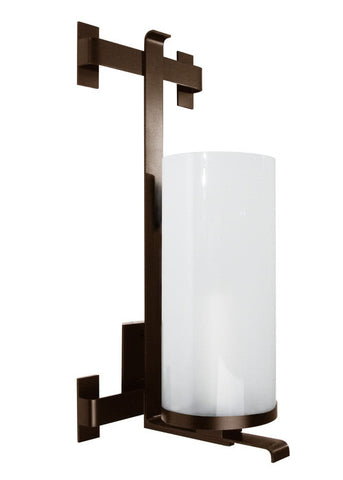 Mallet Sconce with Glass