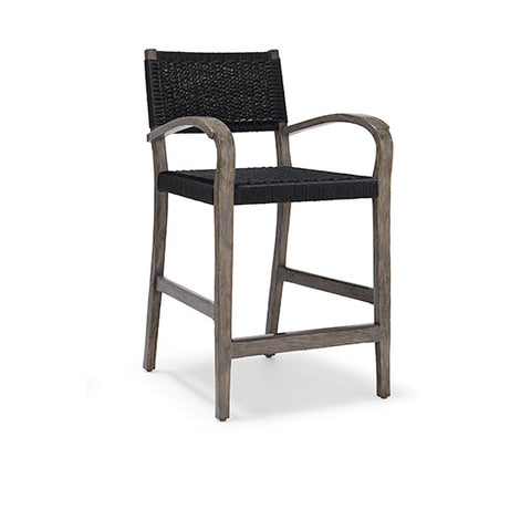 Courtens Counter Stool (arms, Danish cord)