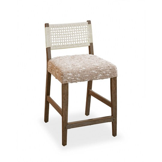 Courtens Counter Stool (small, armless, Danish cord)
