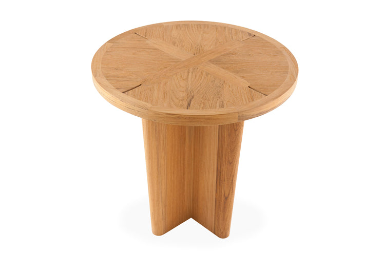 Sand Dollar Round Side Table