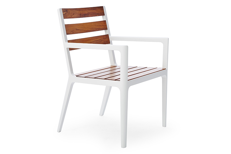 Flux Dining Arm Chair