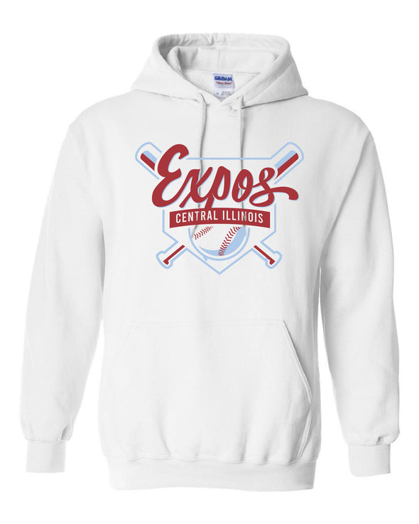 Central Illinois Expos Shield Hooded Sweatshirt