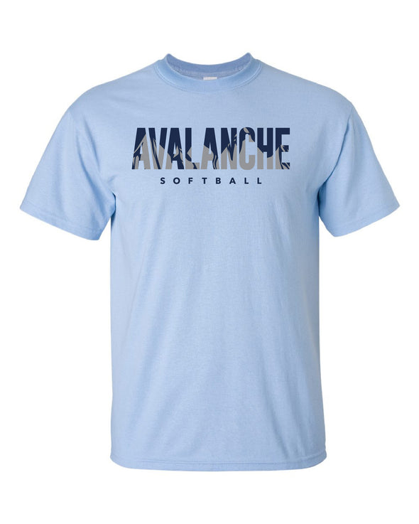 Bloomington Avalanche Inset Cotton Tee