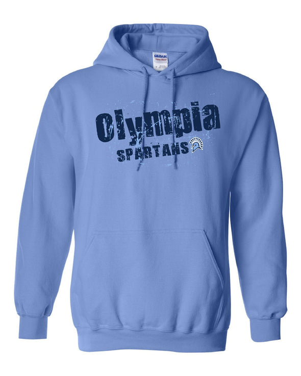 Angled Olympia Spartans Hooded Sweatshirt