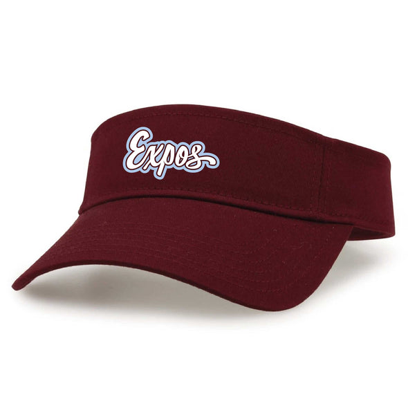 Central Illinois Expos Visor-Embroidered