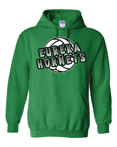 Eureka Hornets Volleyball Hooded Sweatshirt