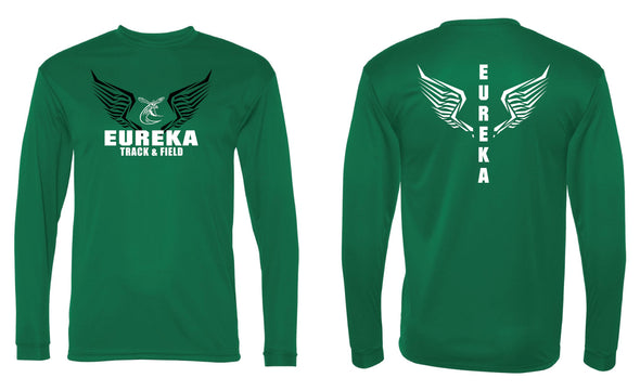 Eureka Track and Field Dri Fit Long Sleeve T-Shirt