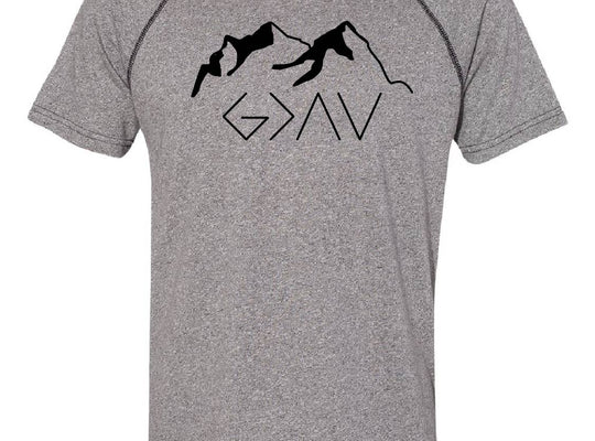 God Is Greater Short Sleeve Crew