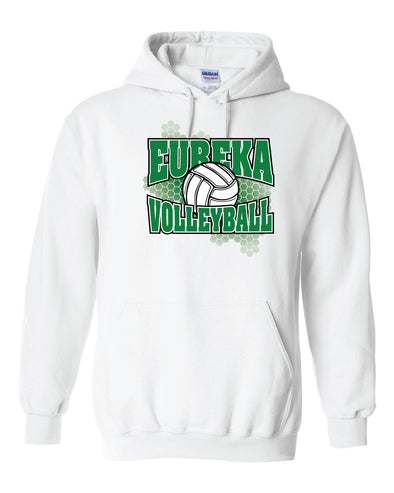 Eureka Honeycomb Volleyball Hooded Sweatshirt