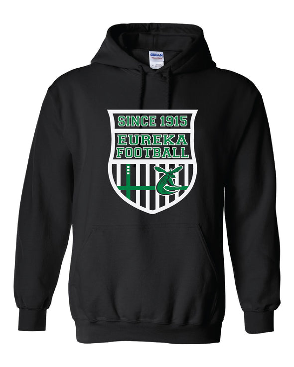 Eureka Football Shield Hooded Sweatshirt