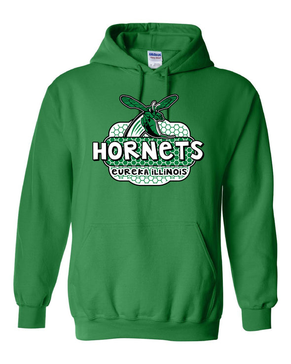 Eureka Hornets Honeycomb Hooded Sweatshirt
