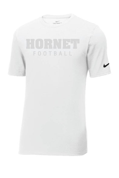 Block Hornet Football Nike Short Sleeve T-Shirt