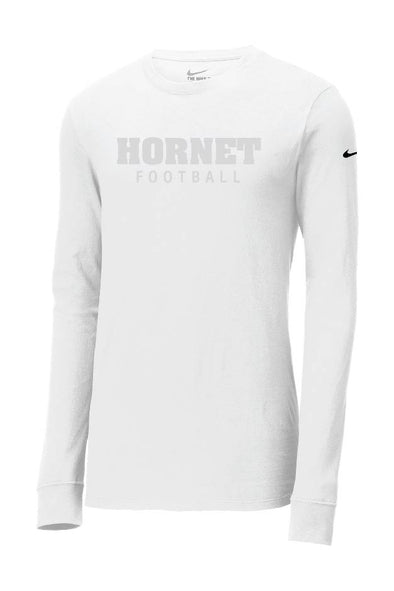 Block Hornet Football Nike Long Sleeve Shirt
