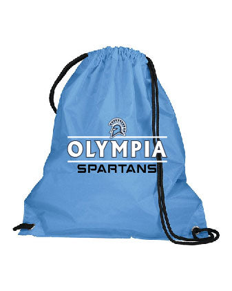 Olympia Spartans Stripe Cinch Bag