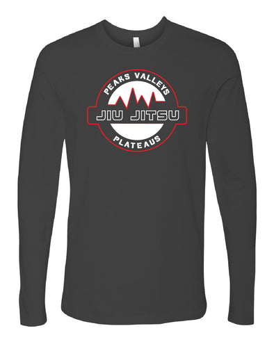 Peaks Valleys Plateaus Long Sleeve Shirt