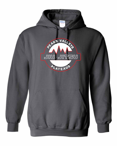 Peaks Valleys Plateaus Hooded Sweatshirt