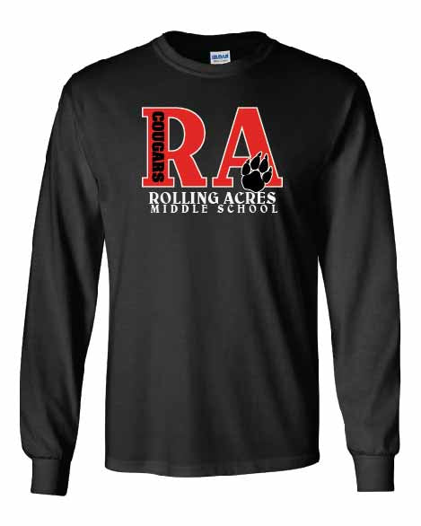 RA Cougars Long Sleeve T-shirt