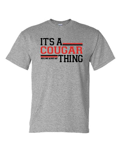 It's A Cougar Thing T-shirt