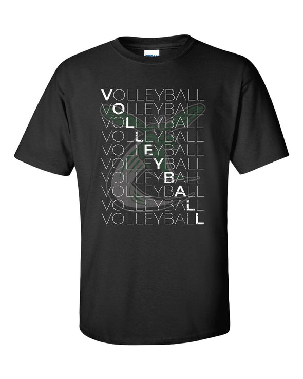 Volleyball Repeat Short Sleeve T-Shirt