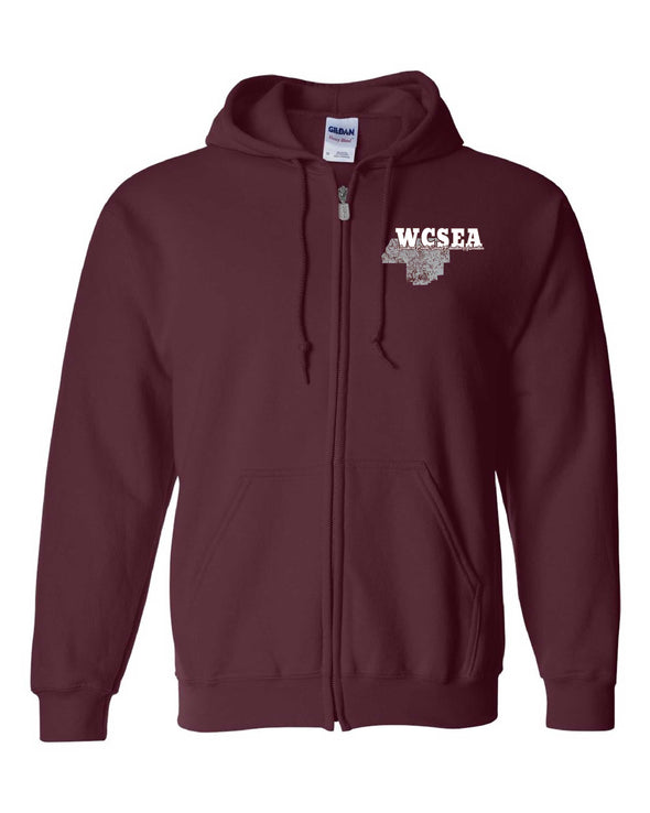 WCSEA County Zippered Sweatshirt