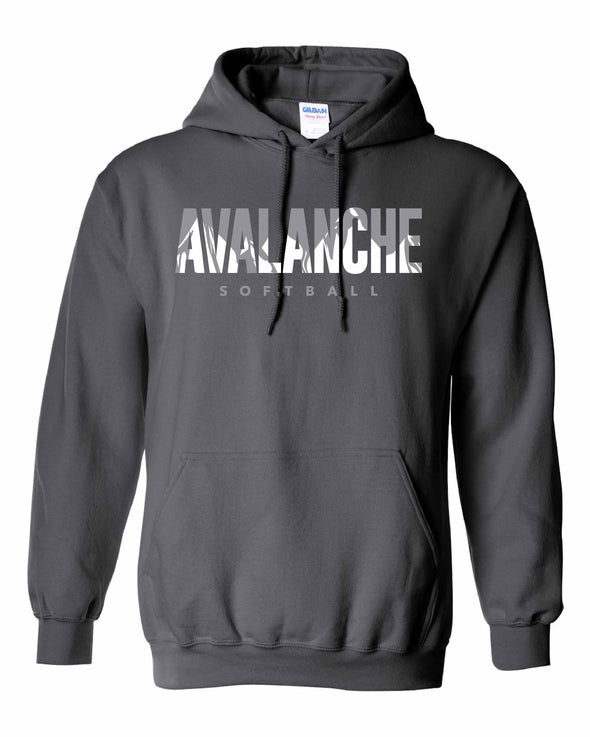 Bloomington Avalanche Inset Hooded Sweatshirt-SILVER OPTION