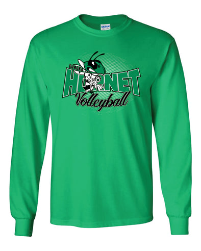 EMS Volleyball  Inset Long Sleeve T-Shirt