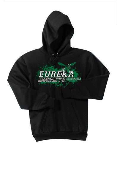 Eureka Track Splatter Hooded Sweatshirt