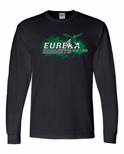 Eureka Track Splatter Long Sleeve T-Shirt