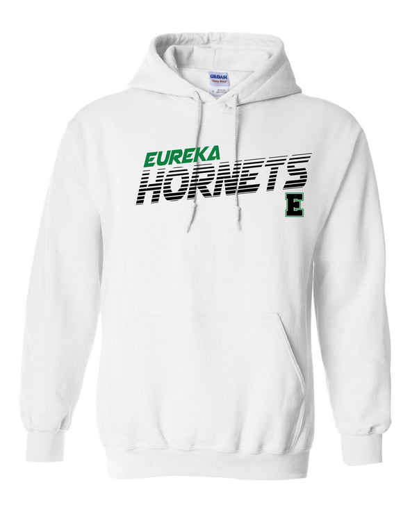 Eureka Hornets Striped Hooded Sweatshirt
